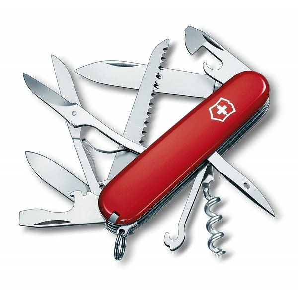 Huntsman Swiss Army Knife - Range of Colours