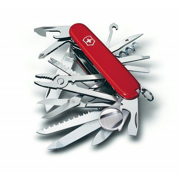 SwissChamp Swiss Army Knife - Range of Colours