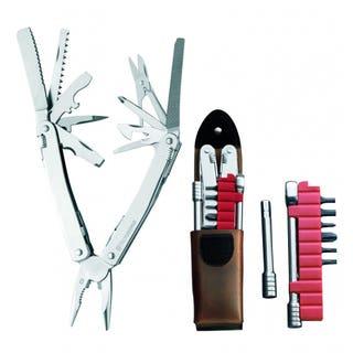 SwissTool Spirit XC Plus Ratchet Set (Leather Sheath)
