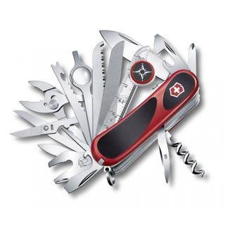 Evo Grip S54 Swiss Army Knife (Red / Black)