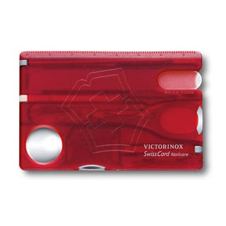 SwissCard Nailcare Pocket Tool  - Range of Colours