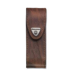 Leather Belt Pouch (Lock Blade Series - 4-6 Layers)