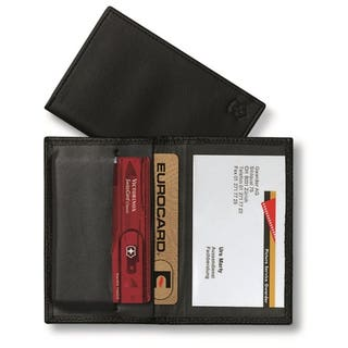 Leather SwissCard Pouch