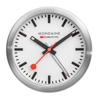 Mini Clock with Alarm (White Dial)
