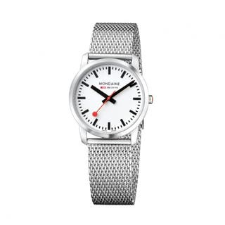 Simply Elegant (White Dial / Stainless Steel Strap / 36mm)
