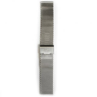 Stainless Steel Mesh 22mm Strap Brushed (Fits 41mm Face / 22mm Lug)
