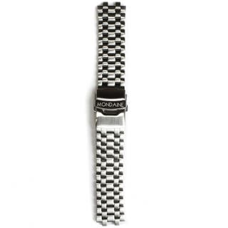 Stainless Steel Brushed 22mm Strap (Fits 41mm Face / 22mm Lug)