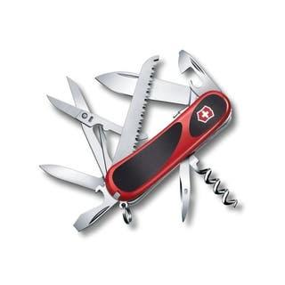 EvoGrip S17 Locking Blade Swiss Army Knife (Red & Black)
