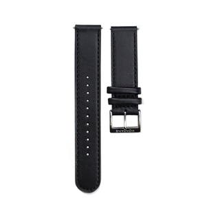 Black 20mm Strap with Stitches for Stop2Go (Fits 41mm Case / 20mm Lug)