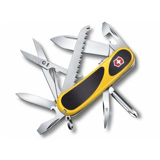 EvoGrip S18 Locking Blade Swiss Army Knife (Yellow/Black)