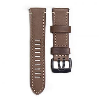 Mens 23mm Lug Brown Leather Watch Strap for Field Series