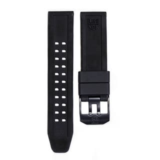20mm Lug Black Rubber Watch Strap for Navy Seal Series