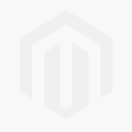 Black Leather 16mm Strap, Silver Buckle (Fits 30mm Face / 16mm Lug)