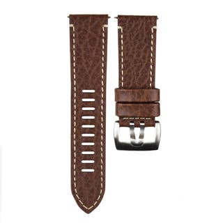 26mm Lug Brown Leather Valjoux Watch Strap to fit 1869 Field Series