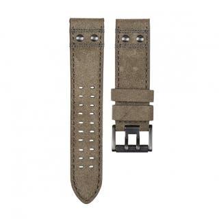 Men's 23mm Safari Leather Watch Strap