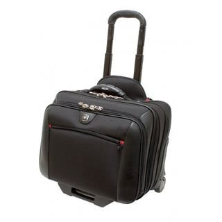 """Wenger Potomac 17"""" Wheeled Laptop Case with Removable 15.4"""" Laptop Sleeve"""