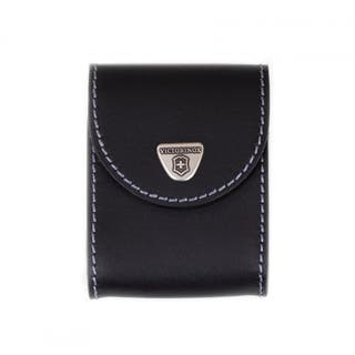 Black Leather Pouch for XAVT