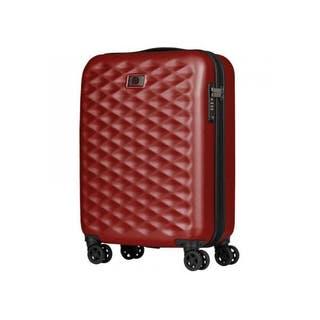 "Lumen 20"" Hard Side Carry-On Case - Red / Silver"