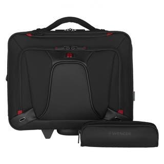 "Transfer 16"" Expandable Wheeled Laptop Case"