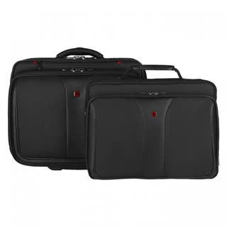 """Wenger Patriot 17"""" Wheeled Laptop Case with Removable 15.4"""" Laptop Sleeve"""