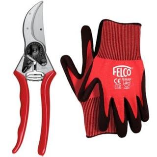 2 Secateur & Large Gloves Gift Set