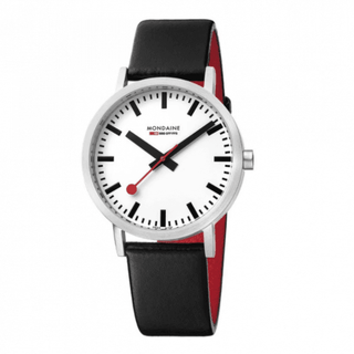 SECOND - Classic (White Dial / Black Strap / 36mm)