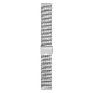 Stainless Steel Mesh 22mm Strap Polished (Fits 41mm Face / 22mm Lug)